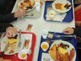 An English Breakfast at school