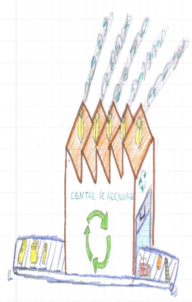 centre de recyclage - Hugo